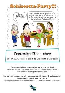 schiscetta party a4
